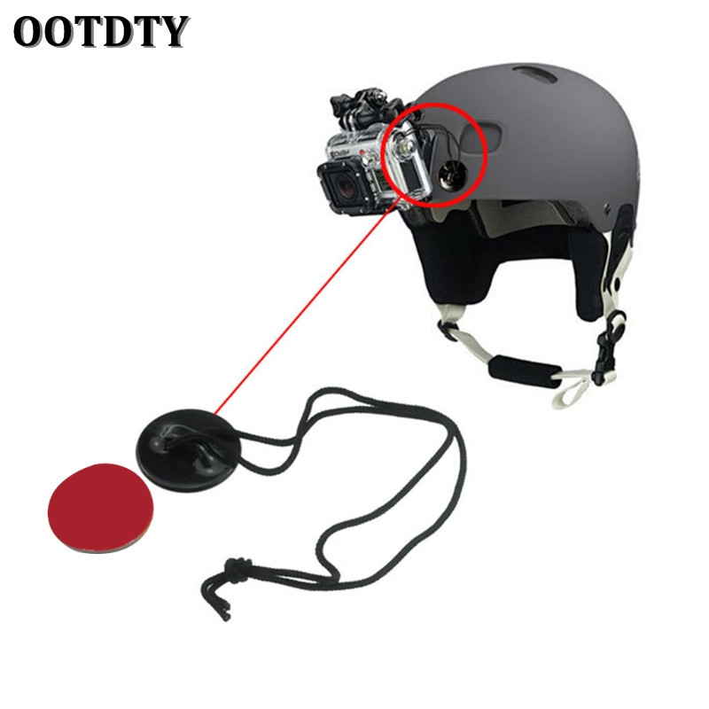 GoPro Camera Tethers Adhesive Helmet Mount HD HERO Sports Safety Strap