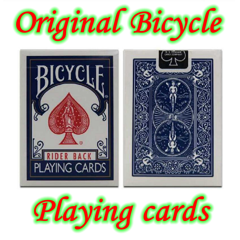 d74299aa586 1 pcs Blue Red Regular Bicycle Playing Cards Bicycle Poker Rider Back  Standard Decks