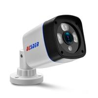 BESDER 2MP H.264 Surveillance IP Camera FULL HD 1080P 2.0 Megapixel ONVIF P2P Detected HI3518E CCTV IP Camera  DC 12V/48V PoE Surveillance Cameras