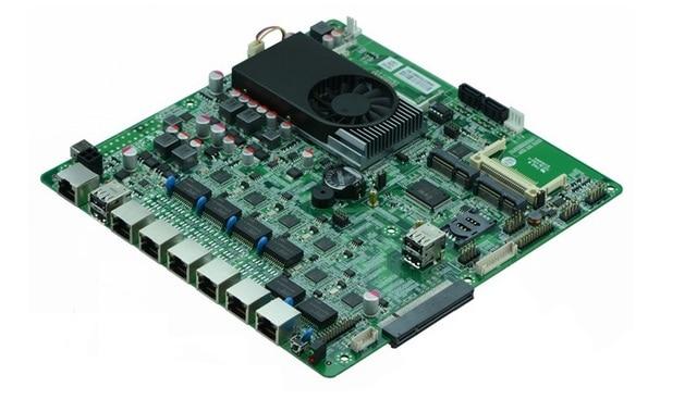 방화벽 N70SL 지원 인텔 1037U/1.80 GHz 듀얼 코어 프로세서 6 * USB/2 * COM 6 LAN