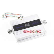 1pcs Family GSM 900MHZ Mini Mobile Phone Signal Booster GSM Signal Repeater Cell Phone Amplifier Wholesale Drop Shipping