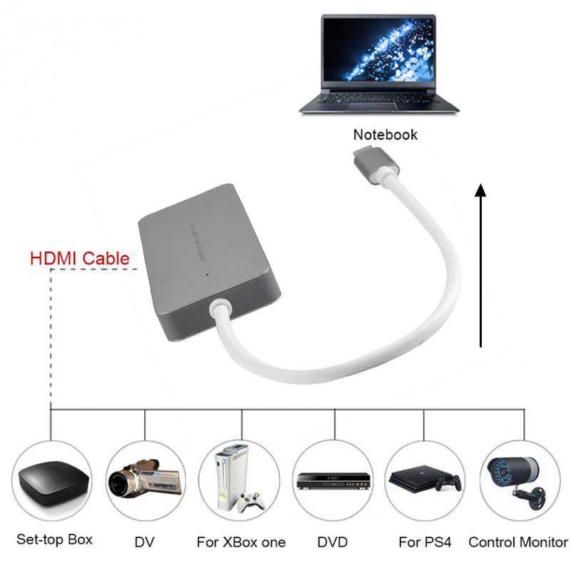 HDMI Loại C HD Trò Chơi Bắt Hình Thẻ 1080P 60Fps Full HD Ghi Thiết Bị Cho Ps4 Ps3 xbox One/360 Wii U Live Stream