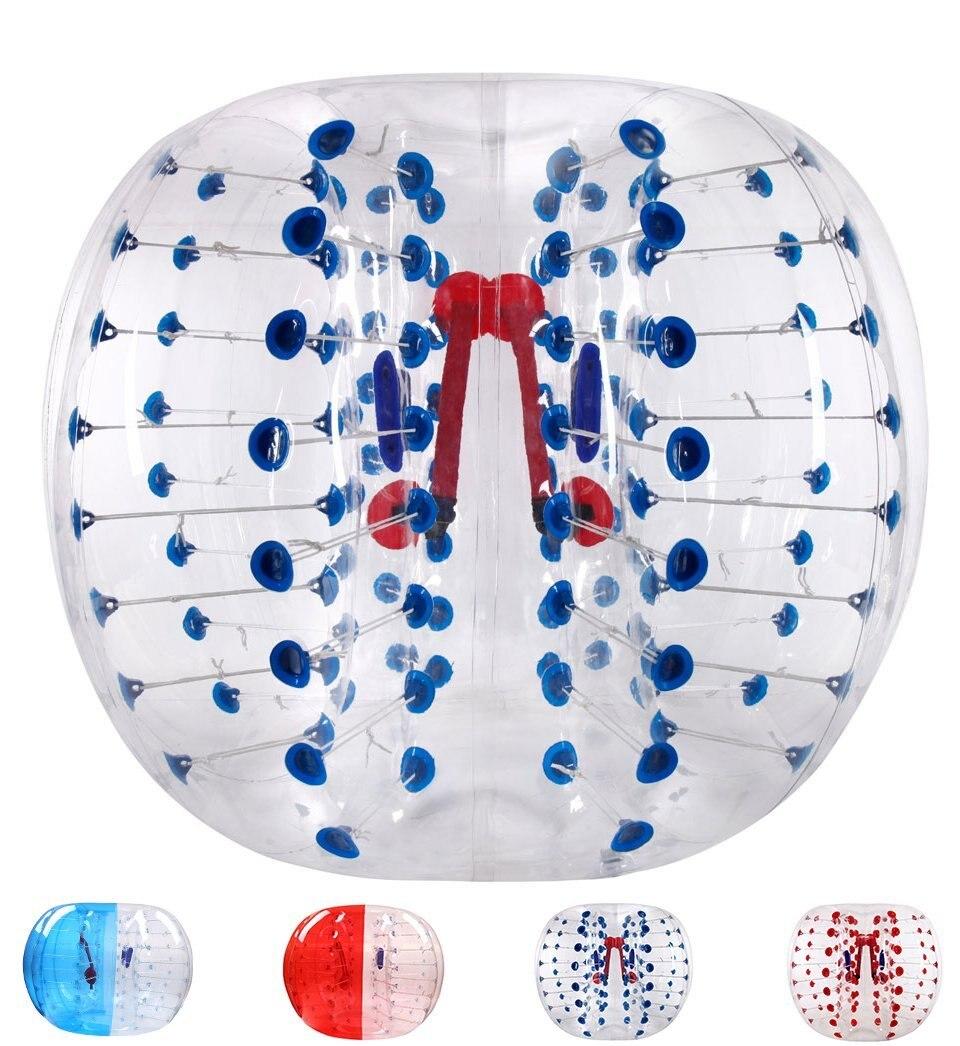 Воздушный пузырь футбол 0,8 мм ПВХ 1,2 м воздуха бампер мяч дети тела Zorb пузырь Футбол, пузырь футбол Zorb для продажи