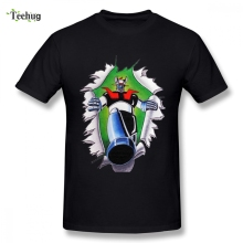 Popular Mazinger Z 100% Cotton Tee Shirt For Male 2018 New Unique Design Boy O-neck T-Shirt
