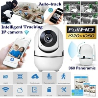 FANTEMO Baby Monitor Portable IP Camera 1080P HD Wireless Smart Baby Camera Audio Video Record Surveillance Home Security Camera