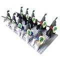 20pcs Lion Knights Cavalryman A castle knight figure with weapon horse compatible Building Block doll, Knight Brick minifigs