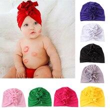 Новая детская чалма для маленьких мальчиков и девочек; шляпа из Индии; милая мягкая шапка; сезон весна-лето-осень-лето; шапка для новорожденных; реквизит для фотосессии
