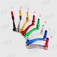Free Shipping Aluminum Gear Shifter Shift Lever For Chinese Motorcycle Pit Dirt Bike 50 70 90
