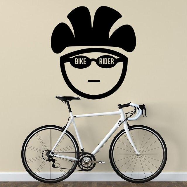 Us 1898 Freies Verschiffen Neue Kinder Zimmer Quote Bike Reiter Wandtattoo Fahrrad Vinyl Abnehmbare Aufkleber Sport Gym Home Art Decor In Freies