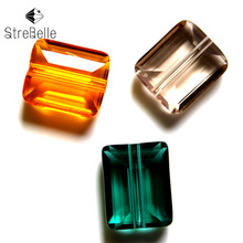 12X10MM New wonderful square beads with spicer diy jewelry  semi-crystal glass create your style DIY