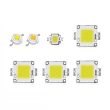 1Pcs 1W 3W LED Spotlight Bulb 10W 20W 30W 50W 100W High Power integrated LEDs lamp Chip COB SMD Diodes For Flood light