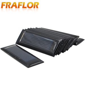 Image 2 - 20PCS/Lot Mini Small 0.5V 100mA Solar Cell Panel Solar Module Accessories For Science and Technology Toy DIY Study 53*18mm