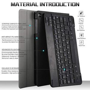 Image 4 - Máy Tính Bảng 10.1 Inch Bluetooth Đèn Nền Bàn Phím Cho Samsung Galaxy Tab A 10.1 2019 SM T510 SM T515 Kèm Bao Da