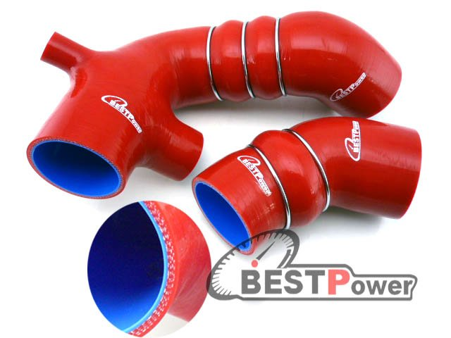 silicone turbo  hose  kit for  Skyline  R32 R33 R34 RB26DETT  RED