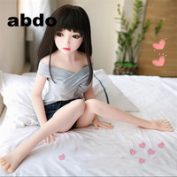100 115cm Adult Love Doll Vagina Lifelike Pussy Japanese Realistic Big Breast Sexy Doll Real Silicone Sex Dolls For Men!