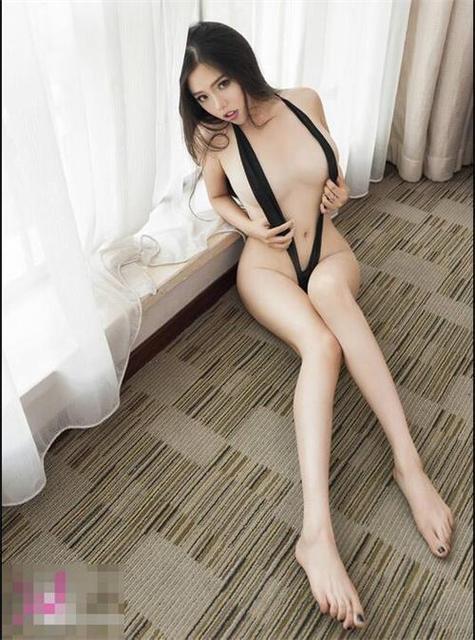 Sexy Frau Spaltung