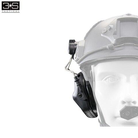 fone de ouvido adaptador tatico militar airsoft capacete acessorios