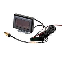1PC 12V 24V Universal Car Digital Water Temperature Gauges   Water