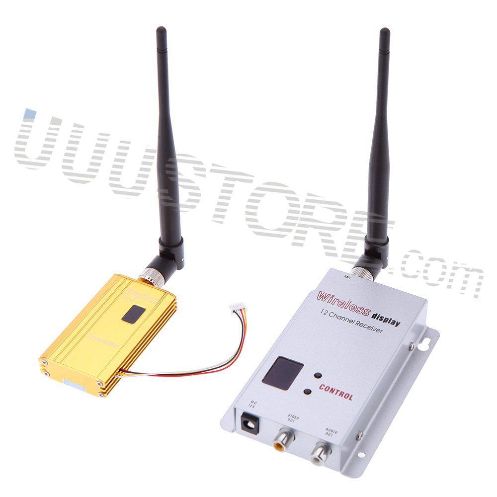 Wireless Transmitters And Receivers: Aliexpress.com : Buy Partom FPV 1.2G 1.2Ghz 1500mW 8