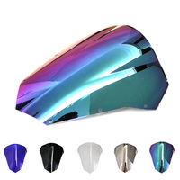 Motorcycle Windscreen Windshield Screen Protector Double Bubble For Yamaha FZ6 03 04 05 06 07 08
