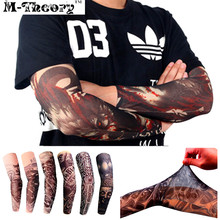 M-theory 3D Tattoos Ärmel Elastische Arm Strümpfe Leggings Temporäre Körper Make-Up 3d Henna Tatuagem Flash Tatoos Body Arts Tatto