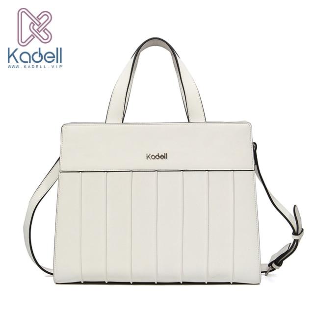 Kadell 2018 Luxury Handbags Women Bags Designer Matte Leather Bag Famous Brand Tote Shoulder Bags Bolsa Feminina Elegant White