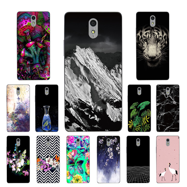 huge selection of e9309 c1dc8 US $1.33 36% OFF|for Lenovo Vibe P1 M Silicon Painted High Quality Botanic  Printing TPU Back Case for Lenovo Vibe P1M Phone Cover Capa-in Fitted Cases  ...