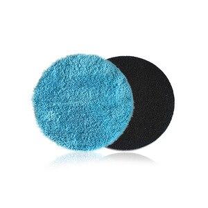 Image 5 - Моющая Губка из микрофибры для воскового покрытия, 4, 5, 6, 7,5 дюйма, для автодетейлинга