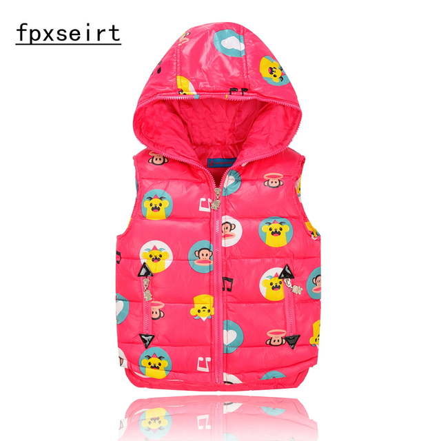 6472bdcbe Children Clothing Winter Outerwear Coats dack down vest Thick ...