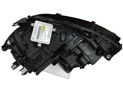 Бесплатная доставка 1 компл. HID биксенон Привет/Lo балки фар в сборе с светодиодный ДХО для valkswagen VW Passat 2011-2015 Plug & Play