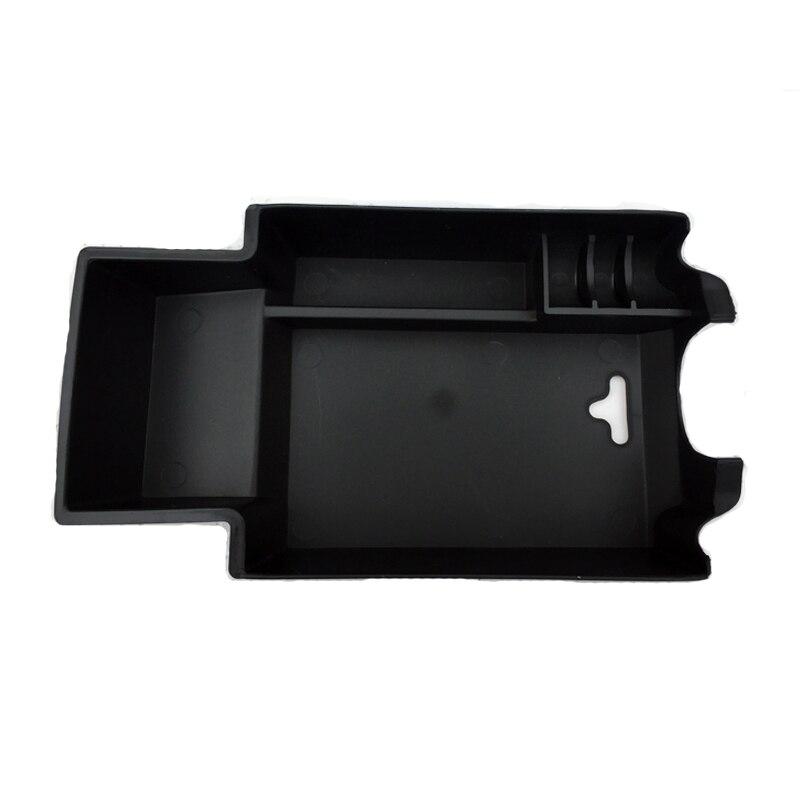 2015 2016 Para Mercedes Benz X156 GLA Interior Acessórios Apoio de Braço Caixa De Armazenamento Box Container Capa Preta