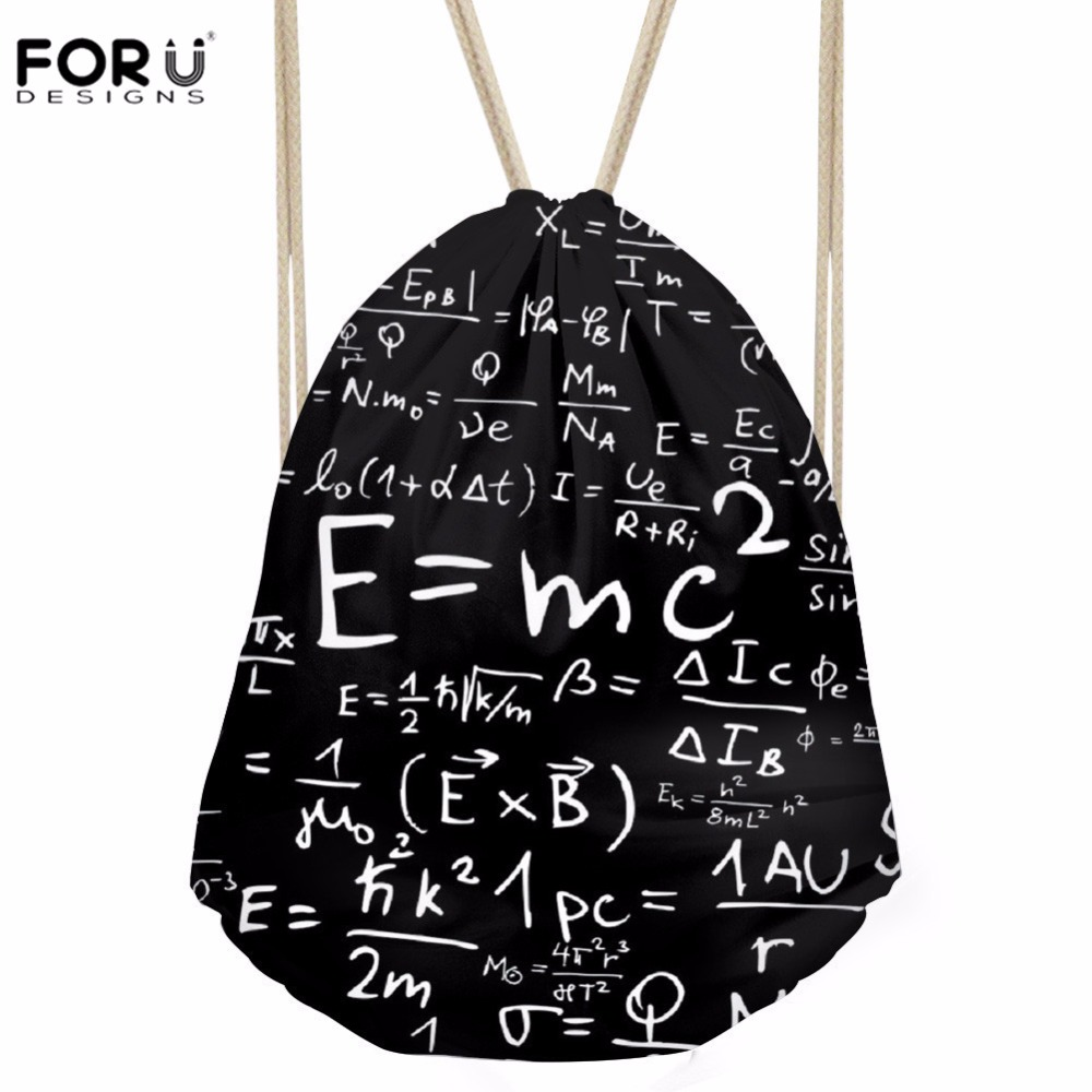 FORUDESIGNS Sports-Bags Drawstring-Bag Gym Sack Athletic Fitness Outdoor Men's Science-3d-Printing