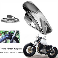 Motorcycle Mud Flaps Front Fender Flares Mudguard Fairing Mug Guards Cover For Suzuki GN125 GN250