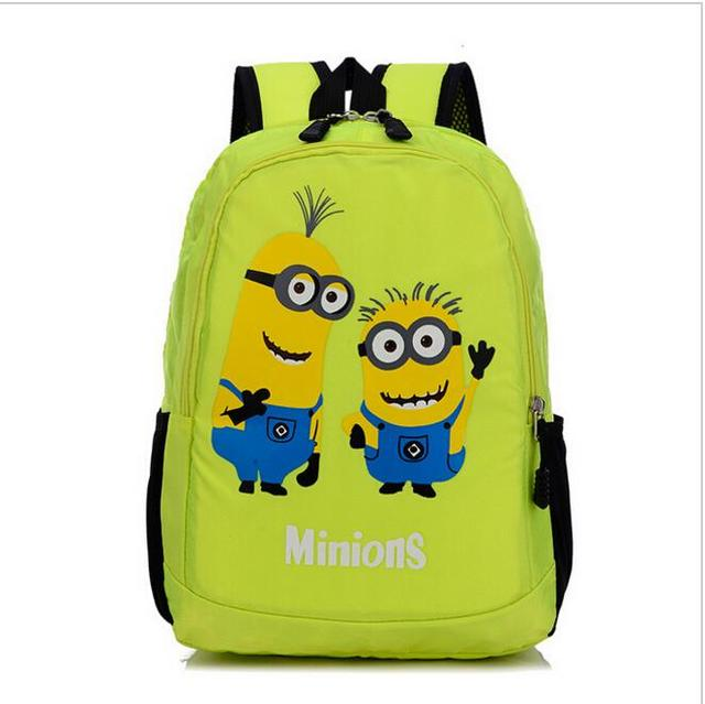 Minion&Despicable Me School Backpack Character Bags Toddler Bag Kids Fashion Hot Sale For Teenagers&Children Back To School EWX