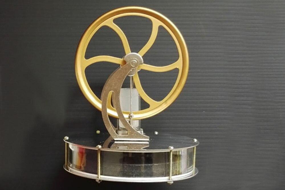 Bricolage précision Stirling moteur modèle équipement de Test de vapeur STL nouveauté garçon cadeau d'anniversaire différence de température