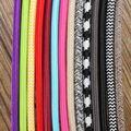 5 M 2 Cable 0.75 cm Colorful Vintage Retro Giro Tejido Trenzado Cable de Alambre Eléctrico de Tela Ligera Lámpara de Araña Colgante cables