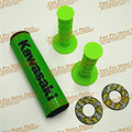 MX Dirt bike Pro Taper Guidão CRF Protetor Bar Cruz Rodada Pad & Pro Taper Handle Grips Coloridas
