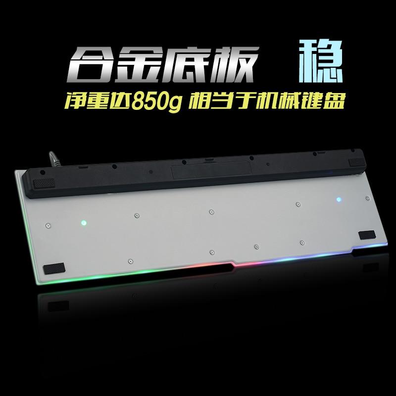7 kleuren achtergrondverlichting gaming toetsenbord Gamer Teclado - Computerrandapparatuur - Foto 3