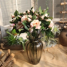10 Pcs Simulation Artificial Flower for Wedding Party and Home Gardenia Plant Jasmine Indoor