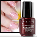 Gel Len 1pcs Non Cleansing Mirror Glass Finish Top Coat Gel LED UV Top Gel Shinning Cover Top Coat