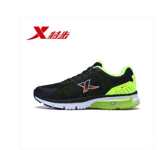 Xtep кроссовки на воздушной подушке обувь амортизацию кроссовки 2018 лето новый стиль дышащей Световой мужские кроссовки