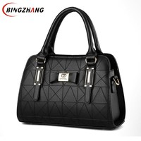 Leather Women Handbags 2018 New Bag Handbag Female Korean Fashion Handbag Crossbody Shaped Sweet Shoulder Handbag