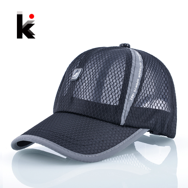 2018 Sun Hats For Men Baseball Cap Women Drake Snapback Girl 's Casual Caps Breathable Mesh Summer Hat Casquette vbiger women men skullies beanies winter hats cap warm knit beanie caps hats for women soft warm ski hat bonnet