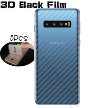 high quality Protective Clear 3D Carbon Fiber Soft Screen Protector For Samsung Galaxy S10 Plus S10E Back Film No Tempered Glass