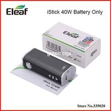 Original TC 40 W Control de Temperarture 2600 mAh iStick Eleaf iStick 40 W Batería con Pantalla OLED para GS Tanque