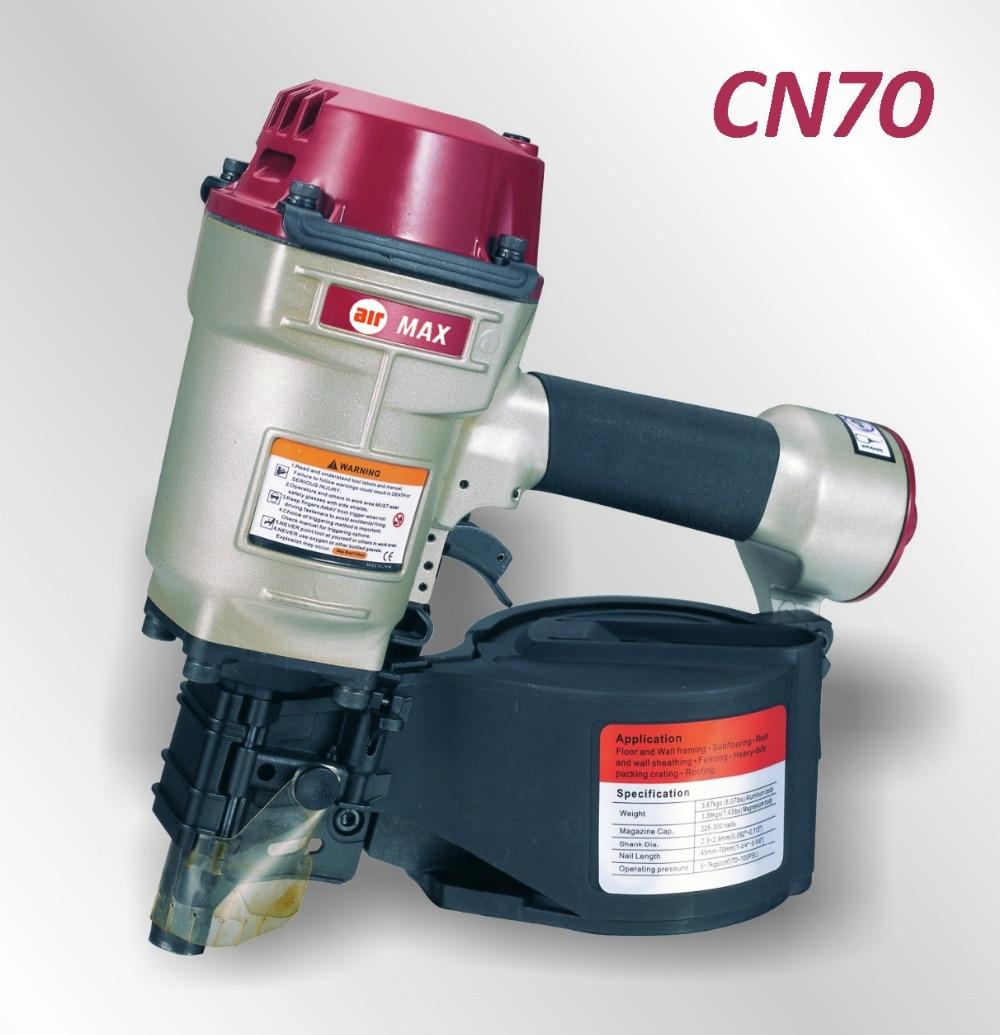 AIR PALLET COIL NAILER NAIL GUN CN70