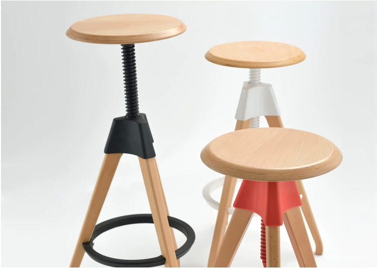 European and American popular bar stool red white black for selection home household stool free shipping