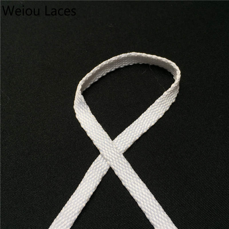 Shoe Accessories Fine Weiou Cbrl 7mm Flat Tubular Laces Awesome Lacet Novelty Customized Colored Shoelaces Ribbon Hollow Shoestring Sports Bootlaces Wide Selection; Shoelaces