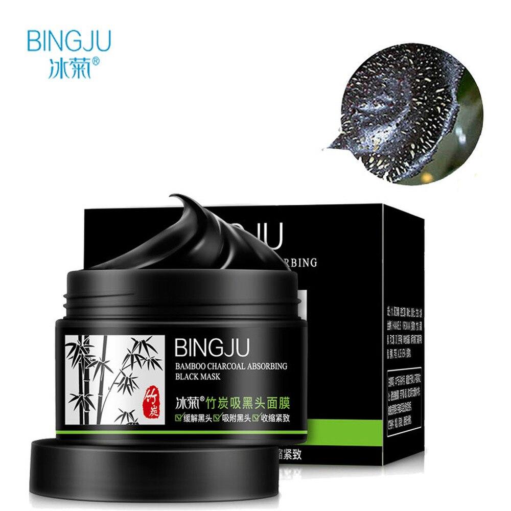 BINGJU Bambusz Fekete Maszk Akne Kezelés Fekete Fekete Remover - Bőrápolás