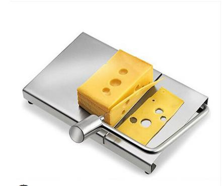 Kitchen Gadgets <font><b>Cheese</b></font> Tools Creative baking <font><b>stainless</b></font> <font><b>steel</b></font> <font><b>wire</b></font> <font><b>cheese</b></font> <font><b>slicer</b></font> image